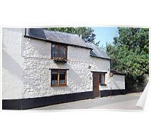 Whitewash Cottage Poster