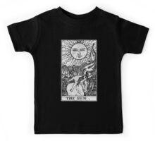 The Sun Tarot Card - Major Arcana - fortune telling - occult Kids Tee