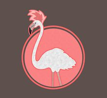 Fauxhawk Flamingo Womens Fitted T-Shirt