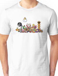 Paper Mario Party Unisex T-Shirt