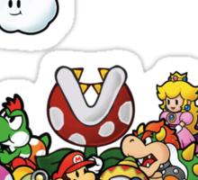 Paper Mario Party Sticker