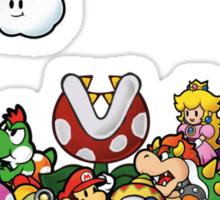 Paper Mario Party Sticker