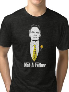 Not-A-Father (Ducky Tie Variant) Tri-blend T-Shirt