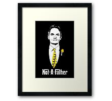 Not-A-Father (Ducky Tie Variant) Framed Print