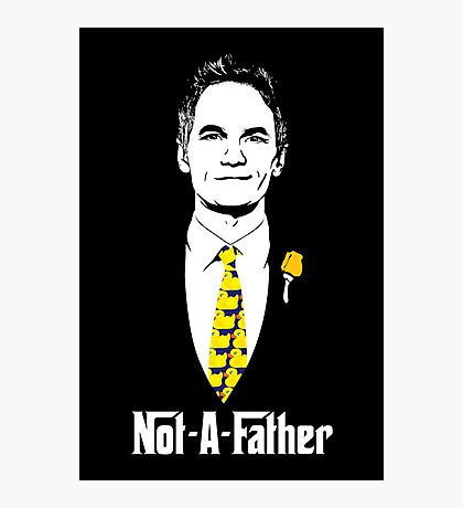 Not-A-Father (Ducky Tie Variant) Photographic Print