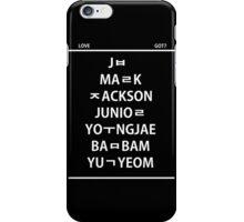 Love GOT7 iPhone Case/Skin