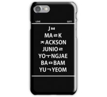 Love GOT7 iPhone Case/Skin