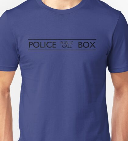 Police Public Call Box Unisex T-Shirt