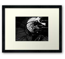 sprocken z wheel? Framed Print