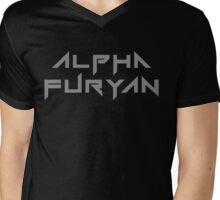 Alpha Furyan Mens V-Neck T-Shirt