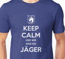 Keep Calm Und Wir Sin Die Jäger (Military Police) Unisex T-Shirt