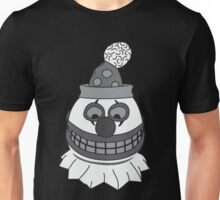 Pint Sized Slasher Mask (B&W) Unisex T-Shirt