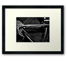 mere metal Framed Print