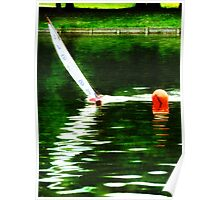 Rounding the Buoy  Poster