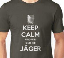 Keep Calm Und Wir Sin Die Jäger (Scouting Legion) Unisex T-Shirt
