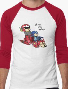Proto and Mega Men's Baseball ¾ T-Shirt