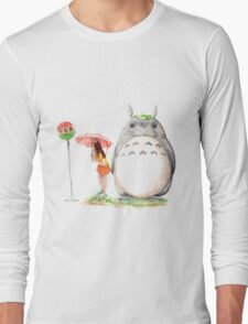 Waiting for the Cat Bus Long Sleeve T-Shirt