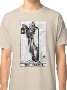 The Hermit Tarot Card - Major Arcana - fortune telling - occult Classic T-Shirt