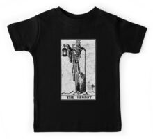 The Hermit Tarot Card - Major Arcana - fortune telling - occult Kids Tee