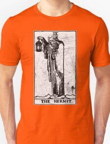 The Hermit Tarot Card - Major Arcana - fortune telling - occult T-Shirt