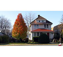 Town House in New Jersey Photographic Print
