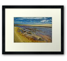 Rush to the Sea. Framed Print