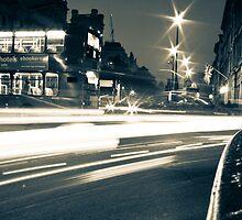 London Lights at Night by dapedwa