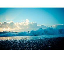 Crashing Waves at Sunrise Photographic Print