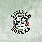 Striker Eureka iPhone Case by TheBatchild