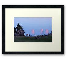 Percys Promenad Framed Print
