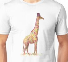 Fashionable Giraffe Unisex T-Shirt