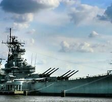 USS Battleship New Jersey by BeautifulYouArt