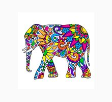 Colorful Tribal Elephant Unisex T-Shirt