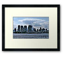 City View of Philadelphia Framed Print