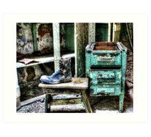 One Shoe Art Print