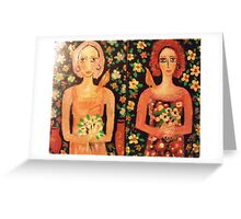 Little posies Greeting Card