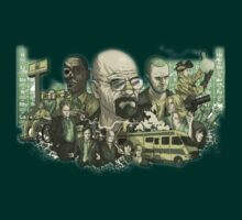 Breaking bad Characters by batman1123
