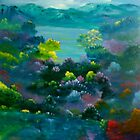 Blue Mountain Valley by David Snider