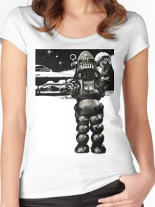 Robby the Robot 2 Women's Fitted Scoop T-Shirt