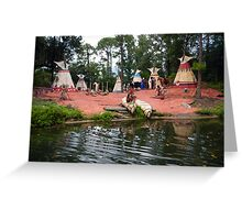 RIVER BOAT WALT DISNEY WORLD ORLANDO FLORIDA JULY 2013 Greeting Card