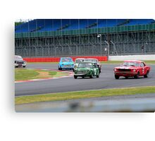 Pre 1966 Touring Cars Canvas Print