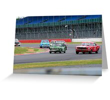 Pre 1966 Touring Cars Greeting Card