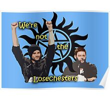 We're not the LOSEchesters Poster