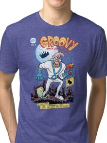 Groovy Space Adventures Tri-blend T-Shirt