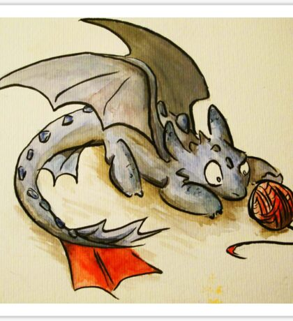 How to train your dragon- Toothless Sticker