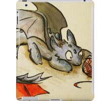 How to train your dragon- Toothless iPad Case/Skin