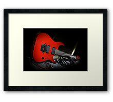 Ibanez MTM1 Mick Thompson Slipknot Guitar Framed Print