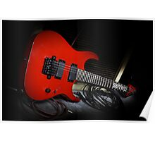 Ibanez MTM1 Mick Thompson Slipknot Guitar Poster