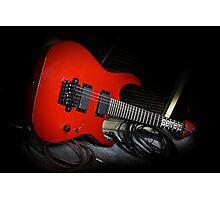 Ibanez MTM1 Mick Thompson Slipknot Guitar Photographic Print