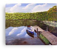 Grasmere Lake, Cumbria Canvas Print